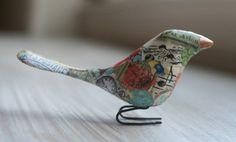 decopage bird