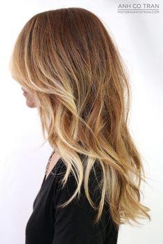 sun kissed brunette hair color - Google Search