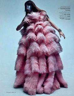Madison Headrick | Greg Harris #photography | Vogue Russia December 2012