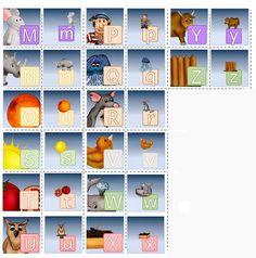* Memory: Grote letter/kleine letter! 2-2