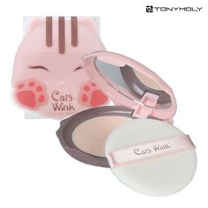 Tony Moly Cats Wink Clear Pact, $7.49 | 26 Asian Beauty Products You Should Totally Spend Your Hard-Earned Money On