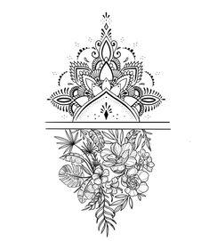Ankle Tattoo, Forearm Tattoos, Back Tattoo, Arm Band Tattoo, Sleeve Tattoos, Daisy Chain Tattoo Ankle, Mandala Foot Tattoo, Mandala Tattoo Design, Tattoo Designs
