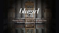 Blugirl Fall Winter 2015/16 Milan Fashion Week LIVE Streaming - http://www.bestfashionweek.com/fashionweek/blugirl-milan-fashion-week-live-streaming.html -