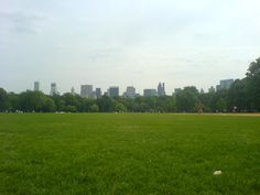 View of New York from Central Park, Manhattan