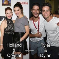 "7,616 Beğenme, 72 Yorum - Instagram'da ♛Dуlαηstiles24♛ (@teenwolfcast): ""Sisters and Brothers ❤ @dylanobrientr - - #teenwolf #tylerposey #dylanobrien #hollandroden…"""