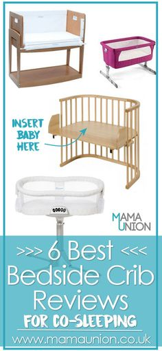 We've found the perfect solution for co-sleeping. Bedside crib reviews for room sharing and co-sleeping. Mama Union