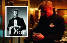 """Dior Homme teamed up with artist Nicolas Santos to give an animated twist to its Fall/Winter 2015 campaign. This makes perfect sense, given that the campaign emerged from the fashion film """"Paris XVIe"""" shot by Willy Vanderperre. Fashion Tape, Dior Fashion, Mens Fashion, Christian Dior, Boyd Holbrook, Fashion Advertising, Ballet, Fall Winter 2015, Paris"""