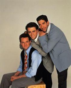 Chandler Bing, Joey Tribbiani e Ross Geller (Friends)