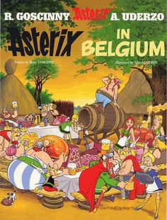 Astérix - The Collection - The collection of the albums of Asterix the Gaul - Asterix in Belgium