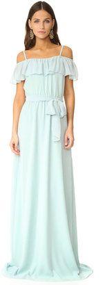 Joanna August Nikki Off Shoulder Ruffle Gown - $285.00