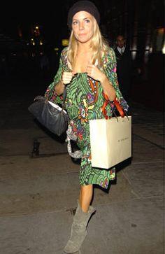 Sienna Miller | Missoni Dress