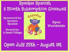 Speekee Spanish Giveaway (ends 8/1) - Pea of Sweetness