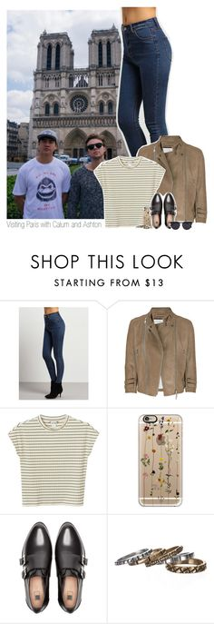 """Visiting Paris with Calum and Ashton"" by shefi-22 ❤ liked on Polyvore featuring McQ by Alexander McQueen, Monki, Casetify, Pull&Bear, Waxing Poetic and Vera Wang"