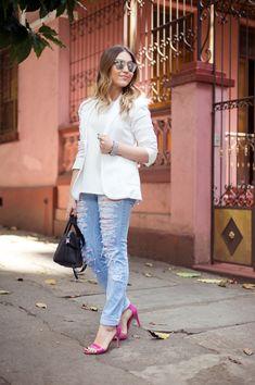 Um blazer deixa qualquer combinação mais sofisticada. | 42 segredos de estilo que fazem toda a diferença no look