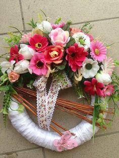 Celorocny ružový veniec / anad333 - SAShE.sk - Handmade Dekorácie