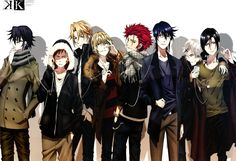 K Project ~~~ As seen in spoon.2Di mag