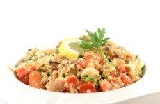 Paella rijst is bloemkool geworden