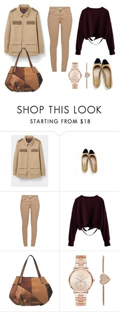 """LOOK DEL DIA"" by aliciagorostiza ❤ liked on Polyvore featuring Barbour and Michael Kors"