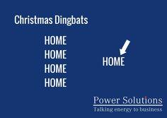 Power Solutions UK - Christmas Dingbat no 12