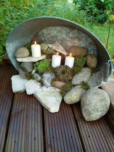 Фото 48: Светильники для сада своими руками