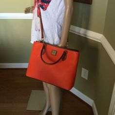 """Willa Zip satchel New Large and roomy 13.5 W x 11"""" H great color to accent any outfit New with dust bag Dooney & Bourke Bags Satchels"""