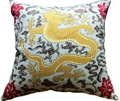 "Image result for SCALAMANDRE CHARCOAL ""CHI'EN DRAGON"" CHINOISERIE LINEN FABRIC"