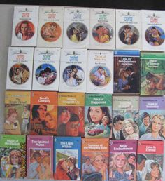YVONNE WHITTAL – HARLEQUIN ROMANCES BOOK-LOT OF 24 PAPERBACK BOOKS– Combine Ship