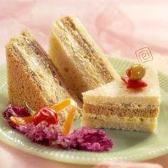 Recipe chicken ribbon sandwiches