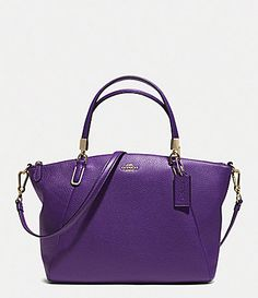 COACH SMALL KELSEY CROSSBODY IN PEBBLED LEATHER