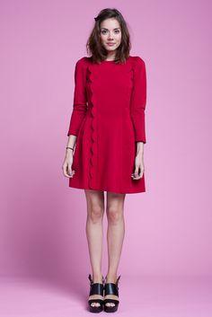 VIVETTA Martedi dress red   30 Cancan