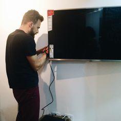 Instalando a TV
