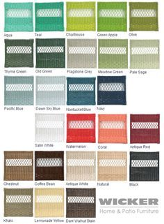Wicker Paint Colors Top Colors For Painted Furniture
