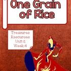 This packet includes resources to use with the Treasures reading program for One Grain of Rice. I have included everything you need for a focus wal...