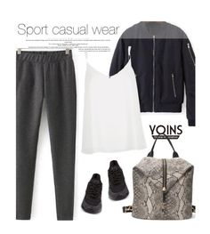 """""""Yoins 2/4"""" by merima-kopic ❤ liked on Polyvore featuring River Island, NIKE, yoins and yoinscollection"""