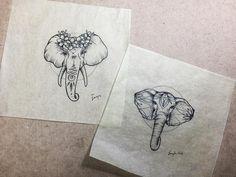 """50 Likes, 4 Comments - ✺ Jay ✺ (@jaytattx) on Instagram: """" #elephant #elephanttattoo #thailand #dot #elephants #paithailand #paithailandlife #paithai…"""""""
