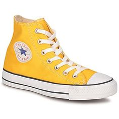 I want a sunny summer !!!   Converse ALL STAR SEASONAL HI Jaune pétant