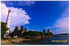 lovely beach, anyer, indonesia