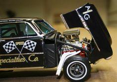 Tribute car of Gene Schwartz by Eric Rath Model Cars Kits, Kit Cars, Car Kits, Plastic Model Cars, Car Engine, Car Humor, Kustom, Drag Racing, Selling On Ebay