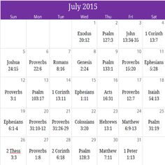 """July """"Family"""" Prayer calendar. For a free PDF version and monthly newsletter email us at calendar@iprayallday.com"""