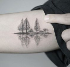 Dotwork Forest Tattoo Artist: Nando Tattoo Booking: open Kakao ID : abraham11 Hannam station, Seoul, Korea