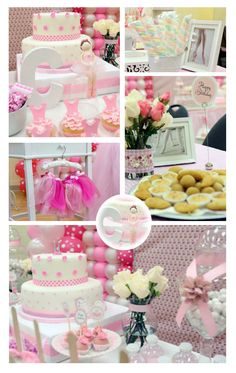 What a gorgeous Pink Brown First Birthday Party submitted by