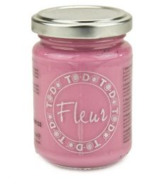 To Do Fleur Chalky paint also available in nice bright colors.