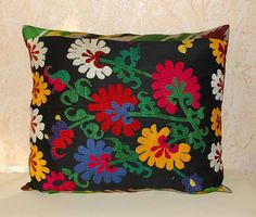 x Bohemian decor. Boho Pillows, Throw Pillows, Bohemian Decorating, Pillow Sale, Traditional Decor, Embroidered Silk, Contemporary, Modern, Decor Styles