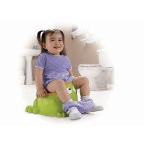 Friendly froggy character potty makes training fun, easy and inviting! Handles help toddlers feel comfortable and secure on the potty, a built-in splash guard Toilet Training, Potty Training, Potty Chair, Fisher Price, Your Child, Giraffe, Parenting, Learning, Children