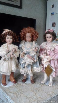 Сестрички от Pamela Phillips / Фарфоровые куклы / Шопик. Продать купить куклу / Бэйбики. Куклы фото. Одежда для кукол