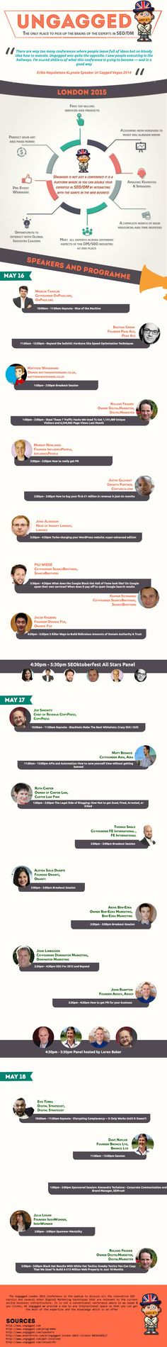 UNGAGGED SEO CONFERENCE [INFOGRAPHIC]