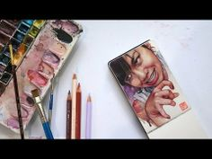 Wendy Pham portrait. Time-lapse
