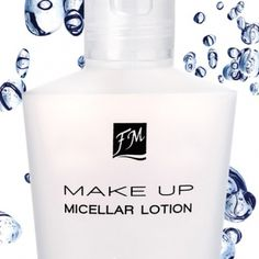 Micellar Lotion Fm Cosmetics, Layers Of The Epidermis, Rose Water, Your Skin, Vodka Bottle, Lotion, Perfume Bottles, How To Remove, Coding