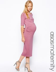ASOS Maternity Exclusive Bardot Dress With Half Sleeve http://www.asos.com/ASOS-Maternity/ASOS-Maternity-Exclusive-Bardot-Dress-With-Half-Sleeve/Prod/pgeproduct.aspx?iid=4208054&cid=6413&sh=0&pge=4&pgesize=36&sort=-1&clr=Dusky+pink&totalstyles=502&gridsize=3