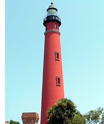 175-foot Ponce De Leon Inlet Lighthouse and Museum is the second highest in the United States and tallest in Florida. Climb 203 steps to the top of the Florida Lighthouse and see spectacular panoramic views of one of the world's most famous beach locales.